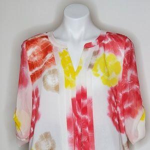 Calvin Klein Floral Dress Medium Used